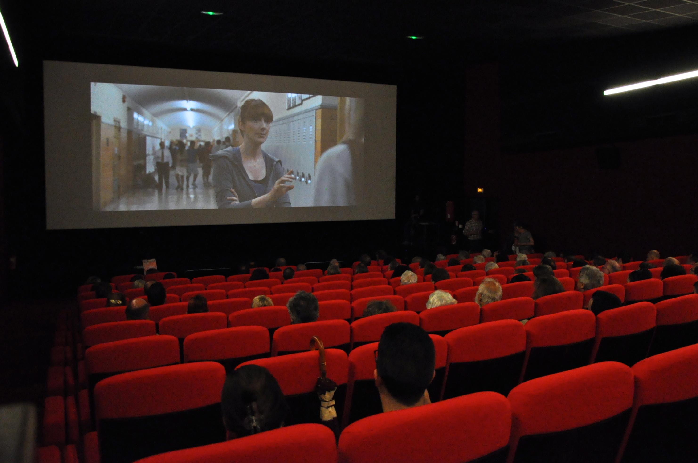 Séance de Cinéma à Dieppe
