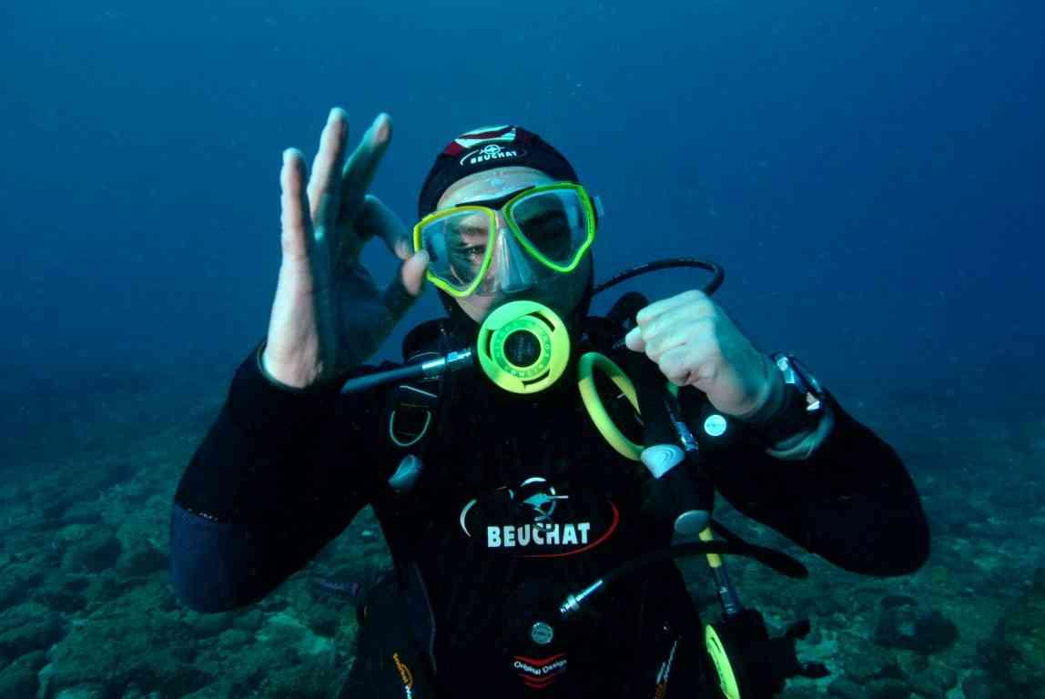 Plongée à Dieppe