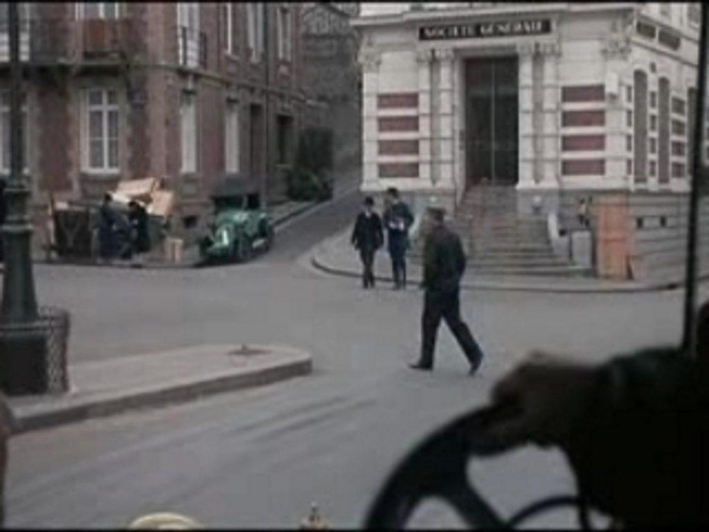 Extrait du film 'La bande à Bonnot' tourné à Dieppe.