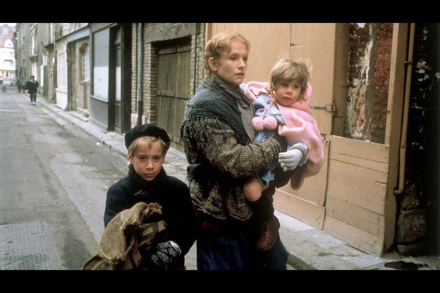 Scène du film 'Une affaire de femmes' tournée à Dieppe.